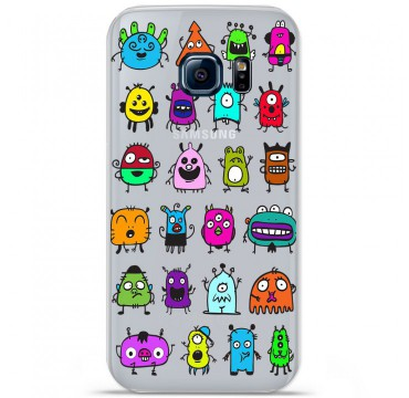 Coque en silicone pour Samsung Galaxy S7 - Alien