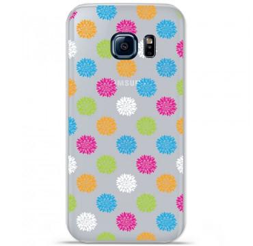 Coque en silicone pour Samsung Galaxy S7 - Floral