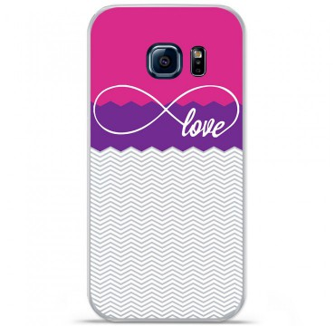 Coque en silicone pour Samsung Galaxy S7 - Love Rose