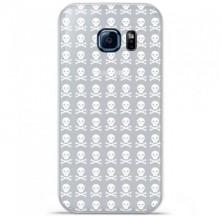 Coque en silicone Samsung Galaxy S7 - Skull blanc