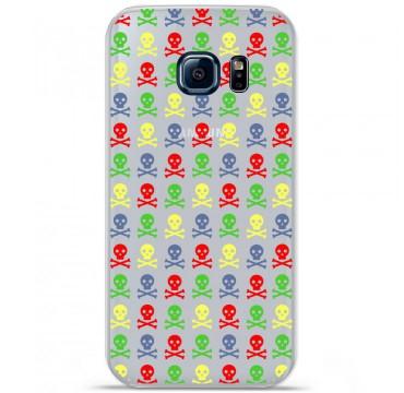 Coque en silicone pour Samsung Galaxy S7 - Skull Couleur