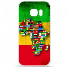 Coque en silicone Samsung Galaxy S7 - Drapeau Africa Unite