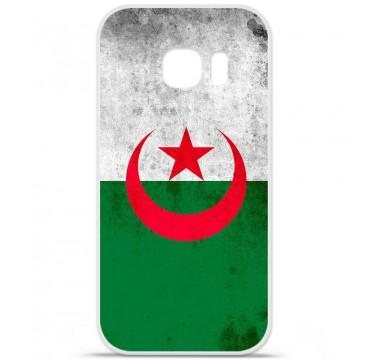 Coque en silicone pour Samsung Galaxy S7 - Drapeau Algérie