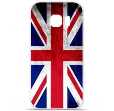 Coque en silicone pour Samsung Galaxy S7 - Drapeau Angleterre