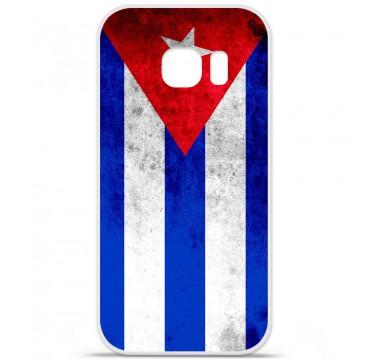 Coque en silicone pour Samsung Galaxy S7 - Drapeau Cuba