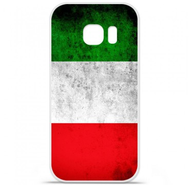 Coque en silicone pour Samsung Galaxy S7 - Drapeau Italie