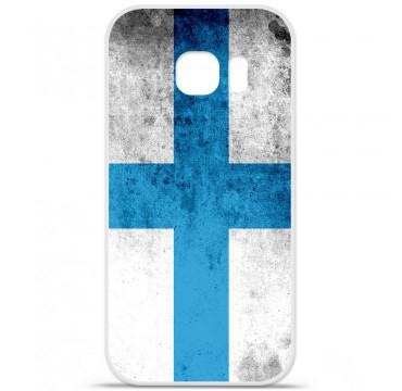 Coque en silicone pour Samsung Galaxy S7 - Drapeau Marseille