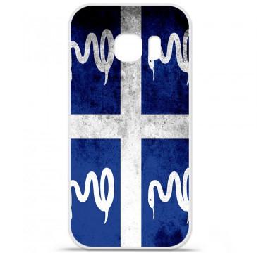 Coque en silicone pour Samsung Galaxy S7 - Drapeau Martinique