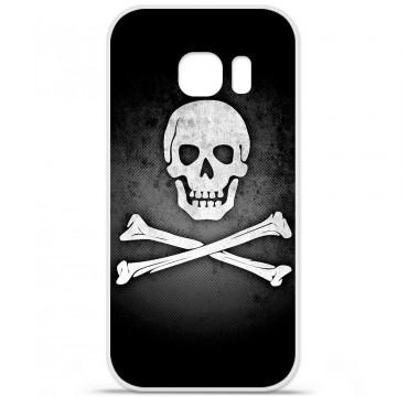 Coque en silicone pour Samsung Galaxy S7 - Drapeau Pirate