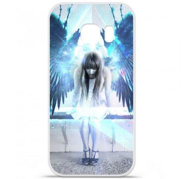Coque en silicone pour Samsung Galaxy S7 - Angel