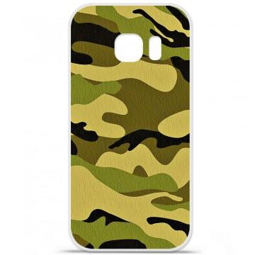 Coque en silicone pour Samsung Galaxy S7 - Camouflage