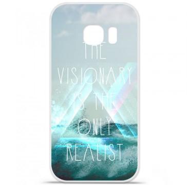Coque en silicone pour Samsung Galaxy S7 - Visionary