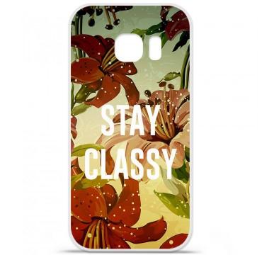 Coque en silicone pour Samsung Galaxy S7 - Stay classy