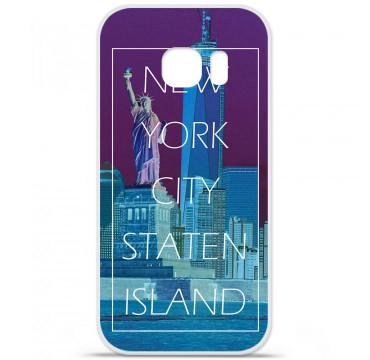 Coque en silicone pour Samsung Galaxy S7 - New york