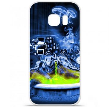 Coque en silicone pour Samsung Galaxy S7 - Fontaine