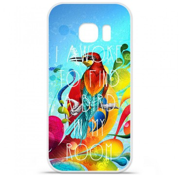Coque en silicone pour Samsung Galaxy S7 - Mocking bird