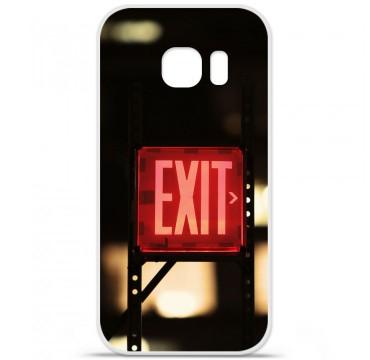 Coque en silicone pour Samsung Galaxy S7 - Exit