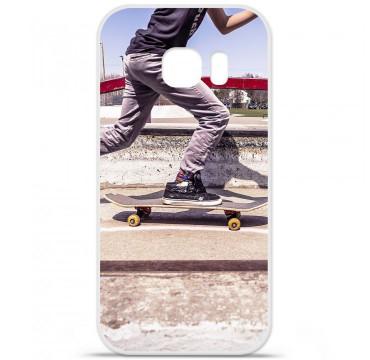 Coque en silicone pour Samsung Galaxy S7 - Skate