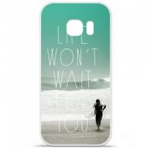 Coque en silicone Samsung Galaxy S7 - Surfer