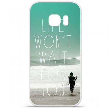 Coque en silicone pour Samsung Galaxy S7 - Surfer