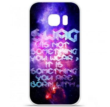 Coque en silicone pour Samsung Galaxy S7 - Cosmic swag