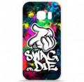 Coque en silicone pour Samsung Galaxy S7 - Swag or die