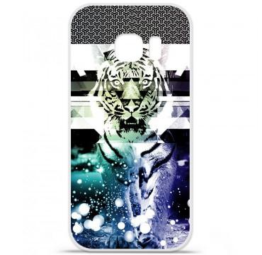 Coque en silicone pour Samsung Galaxy S7 - Tigre swag
