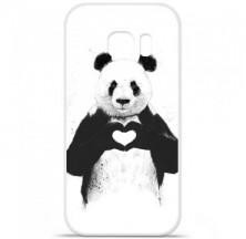 Coque en silicone Samsung Galaxy S7 - BS Love Panda