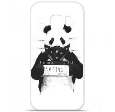 Coque en silicone Samsung Galaxy S7 - BS Bad Panda