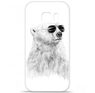 Coque en silicone pour Samsung Galaxy S7 - BS Sunny bear