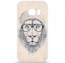 Coque en silicone Samsung Galaxy S7 - BS Cool Lion