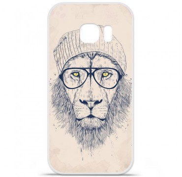 Coque en silicone pour Samsung Galaxy S7 - BS Cool Lion