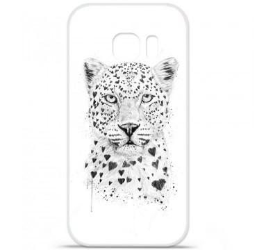 Coque en silicone pour Samsung Galaxy S7 - BS Love leopard
