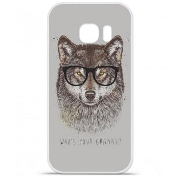 Coque en silicone pour Samsung Galaxy S7 - BS Granny