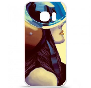 Coque en silicone pour Samsung Galaxy S7 - ML Helmetraus