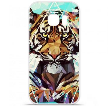 Coque en silicone pour Samsung Galaxy S7 - ML It Tiger