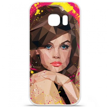 Coque en silicone Samsung Galaxy S7 - ML Vogue Muse