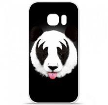 Coque en silicone Samsung Galaxy S7 - RF Kiss Of Panda