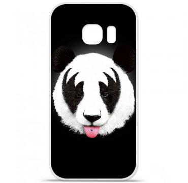Coque en silicone Samsung Galaxy S7 - RF Kiss Of Panda