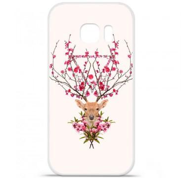 Coque en silicone Samsung Galaxy S7 - RF Spring deer