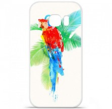 Coque en silicone Samsung Galaxy S7 - RF Tropical party
