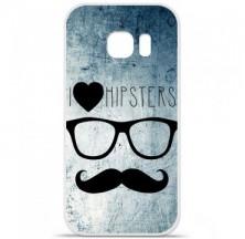 Coque en silicone Samsung Galaxy S7 Edge - I Love Hipster