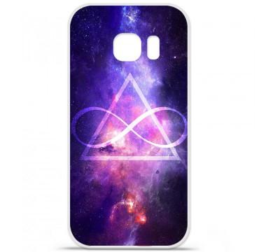 Coque en silicone pour Samsung Galaxy S7 Edge - Infinite Triangle