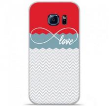 Coque en silicone Samsung Galaxy S7 Edge - Love Rouge