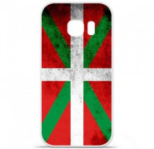 Coque en silicone Samsung Galaxy S7 Edge - Drapeau Basque