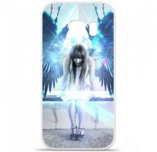 Coque en silicone Samsung Galaxy S7 Edge - Angel