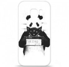 Coque en silicone Samsung Galaxy S7 Edge - BS Bad Panda