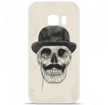 Coque en silicone Samsung Galaxy S7 Edge - BS Class skull