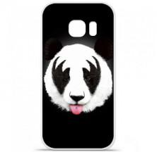 Coque en silicone Samsung Galaxy S7 Edge - RF Kiss Of Panda
