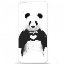 Coque en silicone Apple iPhone 5 / 5S - BS Love Panda